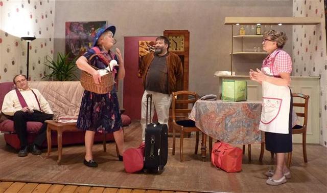 Surprise, surprise, les parents arrivent! Théâtre Saint Antoine Colmar